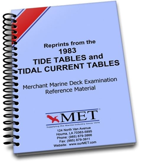 Picture of 1983 Reprint Tide Tables and Tide Current Tables