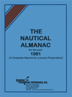Picture of Nautical Almanac Reprint 1981