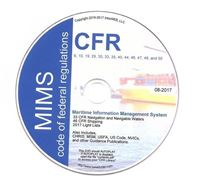 Picture of Code of Federal Regulations CFR on DVD