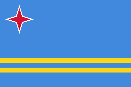 Picture of Aruba Flag 4x6