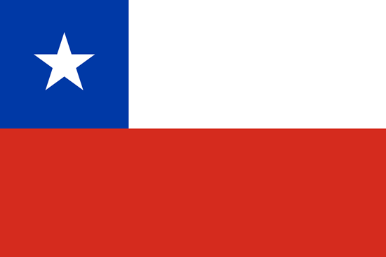 Picture of Chile Flag 4x6