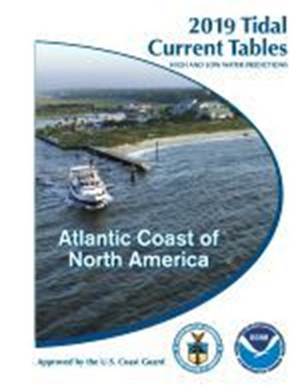 Picture of 2019 NOAA Tidal Current Tables: Atlantic Coast of North America