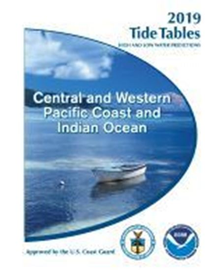 Picture of 2019 NOAA Tide Tables 2018: Central & Western Pacific & Indian Ocean