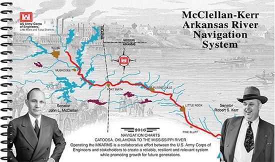 Picture of McClellan- Kerr Arkansas River Navigation System