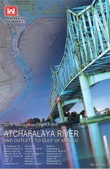 Picture of Atchafalaya River and Outlets to the Gulf of Mexico Navigation Charts (2016)