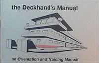 Picture of Deckhand's Manual - An Orientation and Training Manual (Barge and Towing Industry Deckhand's Manual) Paperback – 1996