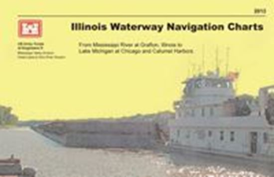 Picture of U.S. Army Corps Of Engineers Illinois Waterway Chart Book