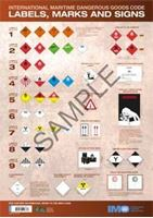Picture of Wall chart: IMDG Code Labels, Marks and Signs, 2016 Edition IG223E