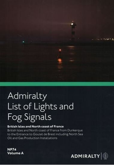 Picture of Admiralty List of Lights and Fog Signals Vol. A NP74