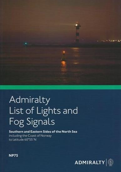 Picture of Admiralty List of Lights and Fog Signals Vol. B NP75