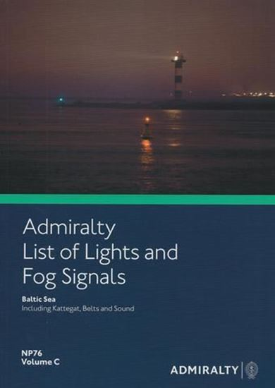 Picture of Admiralty List of Lights and Fog Signals Vol. C NP76
