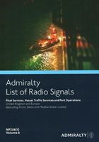 Picture of Admiralty List of Radio Signals (ALRS): Volume 6 - Part 1, (United Kingdom and Ireland - including European Channel Ports) NP286(1)