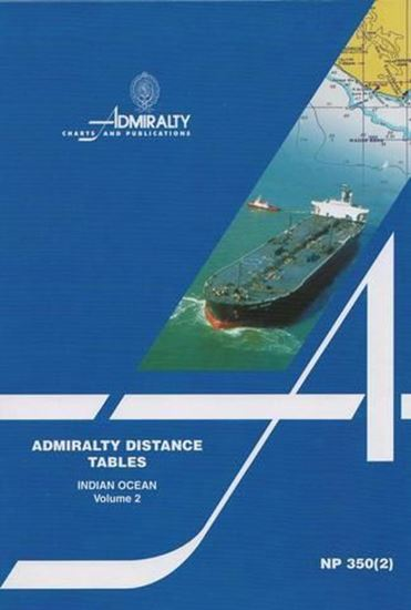 Picture of Admiralty Distance Tables Vol. 2, Indian Ocean NP350(2)