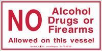 Picture of No Alcohol Drugs or Firearms