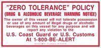 Picture of Zero Tolerance Policy