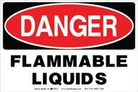 Picture of Danger: Flammable Liquids