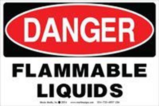 Picture of Danger: Flammable Liquids