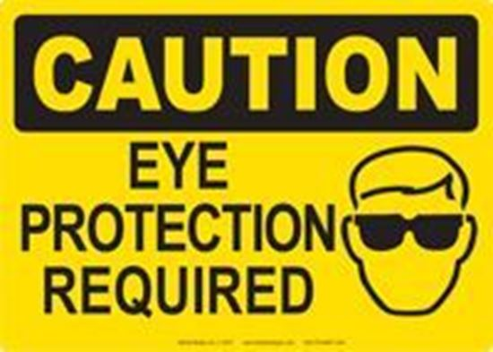 Picture of Caution: Eye Protection Required