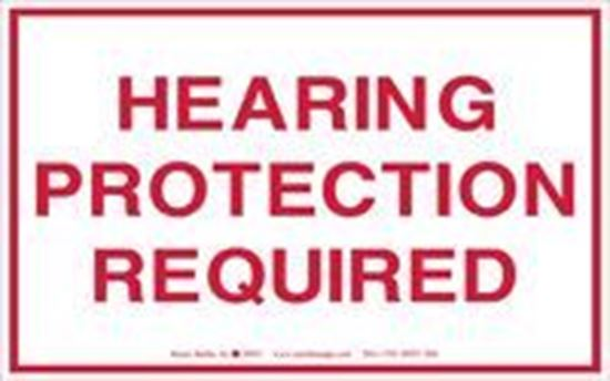 Picture of Hearing Protection Required