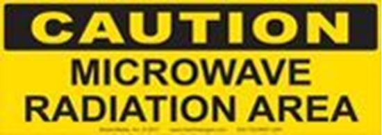 Picture of Caution: Microwave Radiation