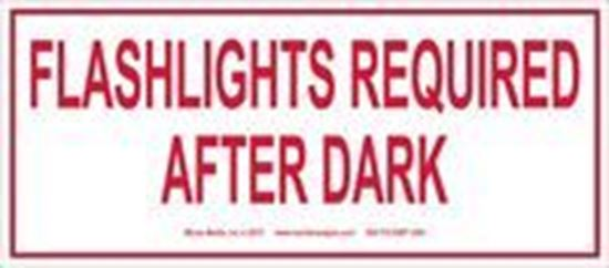 Picture of Flashlights Required