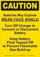 Picture of Caution: Batteries May Explode