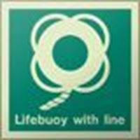 Picture of Lifebuoy with Line