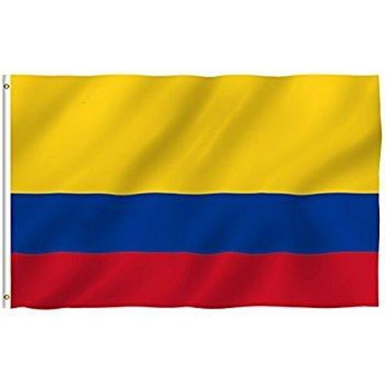 Picture of Colombia Flag 4x6