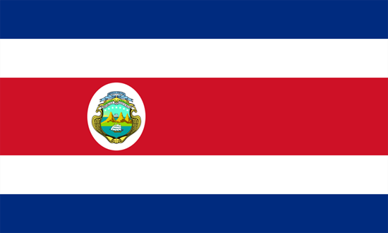 Picture of Costa Rica Flag 4x6