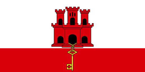 Picture of Gibraltar Flag 3'x5'