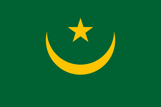 Picture of Mauritania Flag 3x5