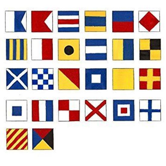 Picture of International Code Flag Set 2x2