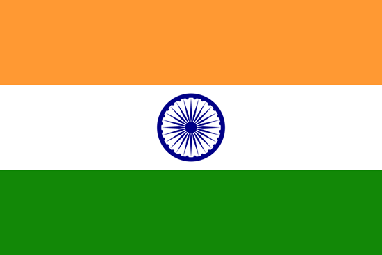 Picture of India Flag 4x6
