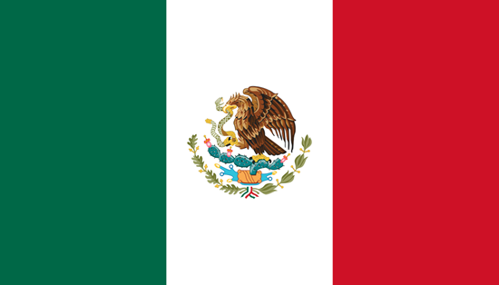 Picture of Mexico Flag 4x6