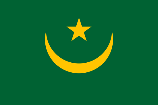 Picture of Mauritania Flag 4x6