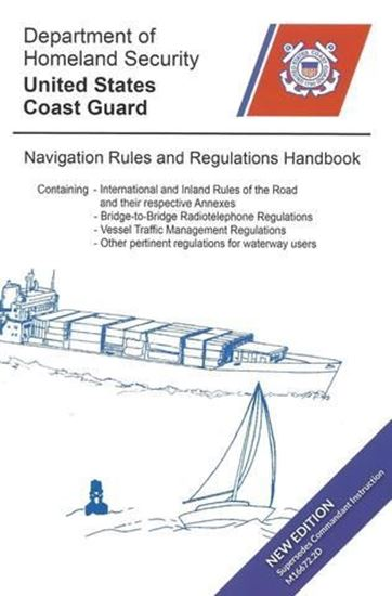 Picture of U.S.C.G. Navigation Rules and Regulations Handbook, 2020
