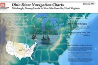 Picture of Ohio River Navigation Charts - Pittsburgh, Pennsylvania To New Martinsville, West Virginia