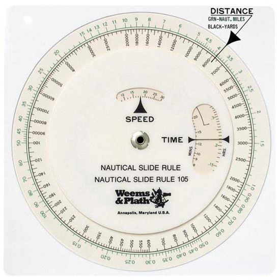 Picture of WEEMS & PLATH Nautical Slide Rule