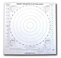 Picture of Radar Transfer Plotting Sheet (Pad of 50)