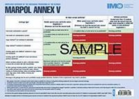 Picture of Poster: MARPOL Annex V discharge provisions, 2017