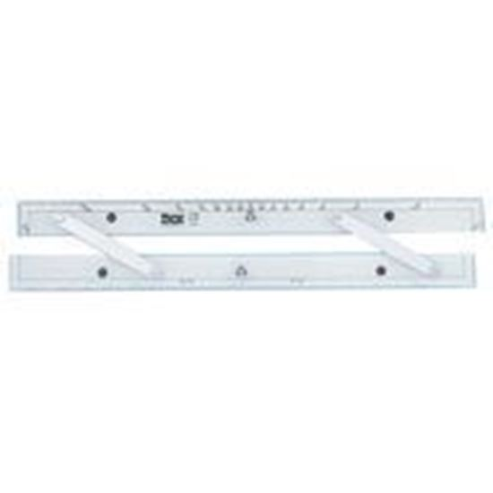 """Picture of 18"""" Aluminum Arms Parallel Rule"""