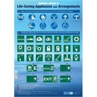 Picture of Poster: Life Saving Appliances Symbols (2006 Edition