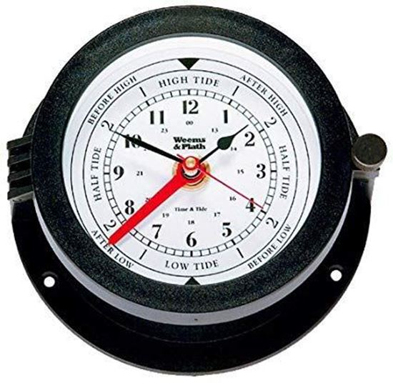 Picture of Weems & Plath Bluewater Quartz Time & Tide Clock Item #: 150300