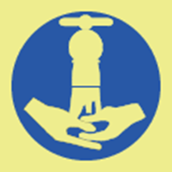 Picture of Wash your hands symbol