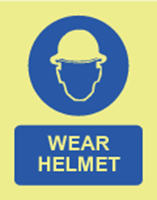Picture of Wear helmet