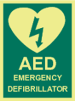 Picture of AED emergency defibrillator
