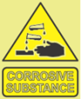 Picture of Corrosive substance