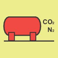 Picture of CO2/nitrogen bulk installation
