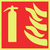 Picture of Fire extinguisher symbol