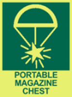 Picture of Portable magazine chest